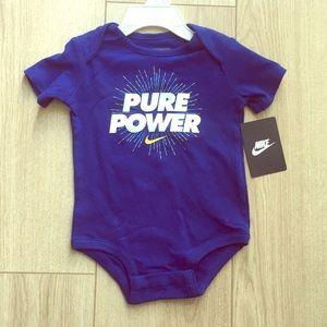 5a75e24e0 NWT Nike Royal Blue Onesie. NWT Nike Royal Blue Onesie. $12 $16. Nwt Nike  Bodysuit Onsie Baby 0-3 M